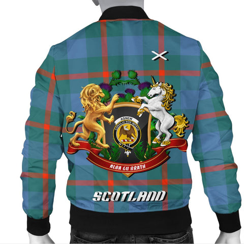 Agnew Ancient | Tartan Bomber Jacket | Scottish Jacket | Scotland Clothing