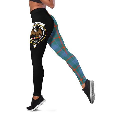 Agnew Ancient Crest Tartan Leggings | Over 500 Tartans | Special Custom Design