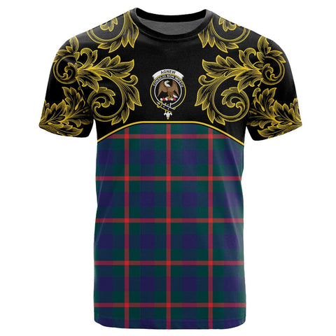 Agnew Modern Tartan Clan Crest T-Shirt - Empire I - HJT4 - Scottish Clans Store - Tartan Clans Clothing - Scottish Tartan Shopping - Clans Crest - Shopping In scottishclans - T-Shirt - Tee For You