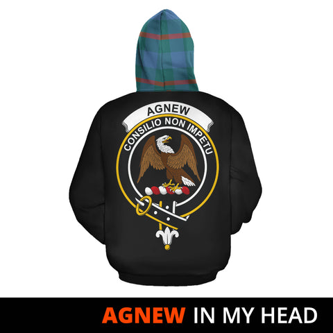 Image of Agnew Ancient In My Head Hoodie Tartan Scotland K9