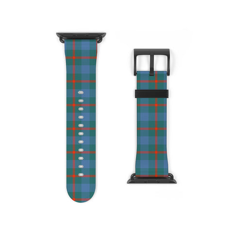 Image of Agnew Ancient Scottish Clan Tartan Watch Band Apple Watch
