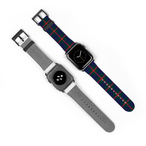 Agnew Modern Scottish Clan Tartan Watch Band Apple Watch