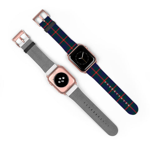 Image of Agnew Modern Scottish Clan Tartan Watch Band Apple Watch