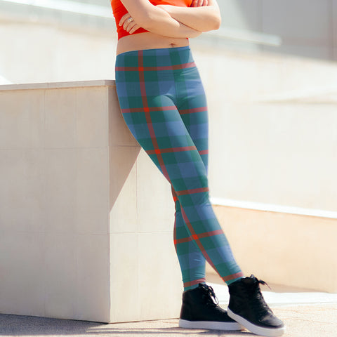 Agnew Ancient Tartan Leggings| Over 500 Tartans | Special Custom Design