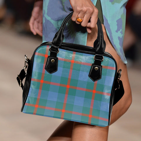 Agnew Ancient Tartan Shoulder Handbag for Women | Hot Sale | Scottish Clans