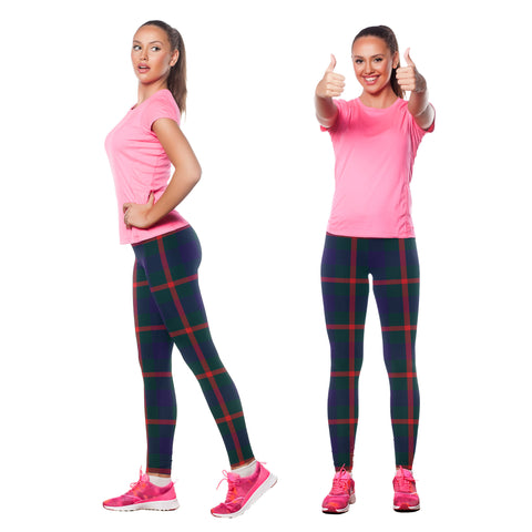 Agnew Modern Tartan Leggings | Scottishclans.co