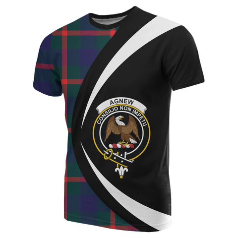 Image of Agnew Modern Tartan T-shirt Circle