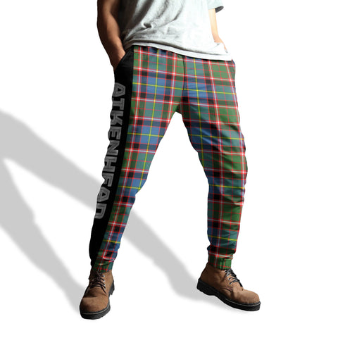 Image of Aikenhead - Tartan All Over Print Sweatpants - BN