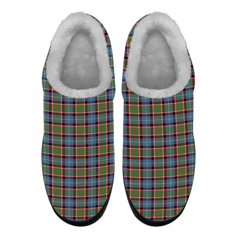 Aikenhead Tartan Fleece Slipper (Women's/Men's) A7