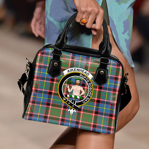 Aikenhead Tartan Clan Shoulder Handbag | Special Custom Design