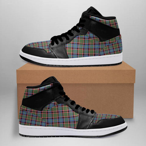 Aikenhead Tartan Jordan Sneakers (Women's/Men's) - Black A7