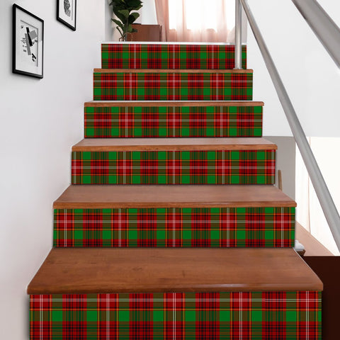 Scottishshop Tartan Stair Stickers - Ainslie Stair Stickers A91