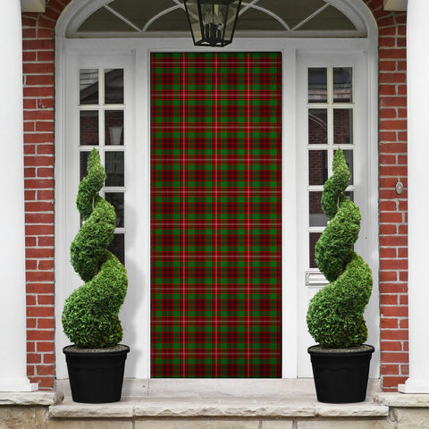 Ainslie Tartan Door Sock Cover