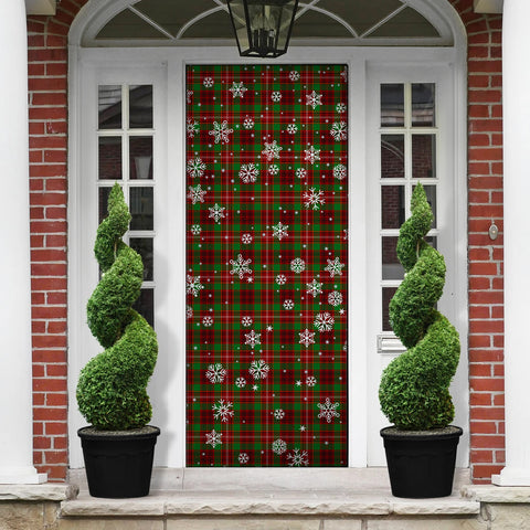 Ainslie Christmas Tartan Door Sock Cover