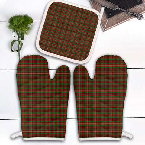 Ainslie Clan Tartan Scotland Oven Mitt And Pot-Holder (Set Of Two)
