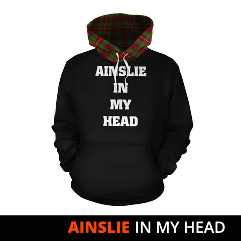 Ainslie In My Head Hoodie Tartan Scotland K9