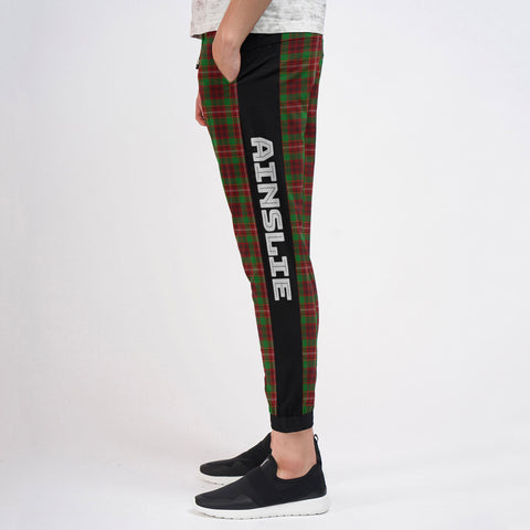 Ainslie - Tartan All Over Print Sweatpants - BN