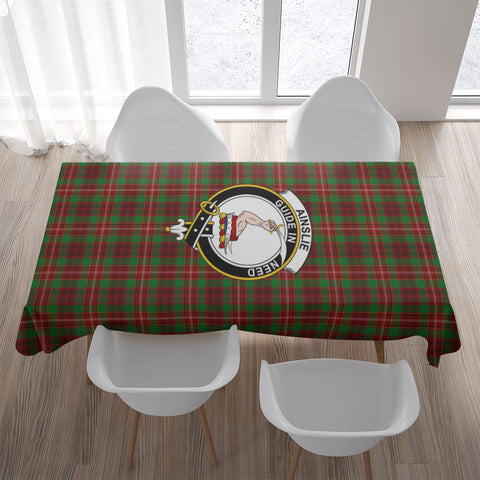 Ainslie Crest Tartan Tablecloth | Home Decor