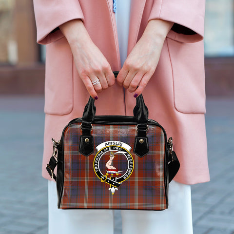 Ainslie Tartan Clan Shoulder Handbag | Special Custom Design