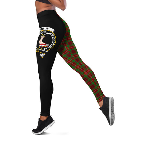 Ainslie Crest Tartan Leggings | Over 500 Tartans | Special Custom Design