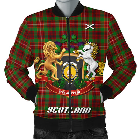 Ainslie | Tartan Bomber Jacket | Scottish Jacket | Scotland Clothing