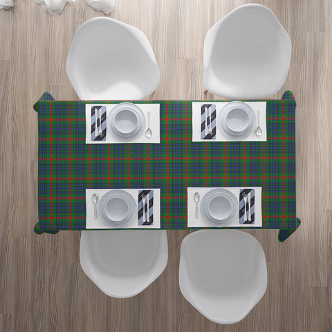 Image of Aiton Tartan Tablecloth | Home Decor