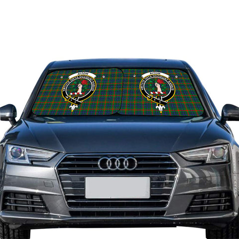 Aiton Clan Crest Tartan Scotland Car Sun Shade 2pcs