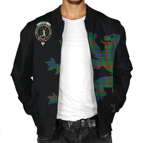 Aiton Lion And Thistle Men Jacket