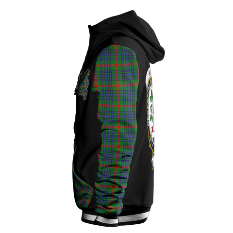 Image of Aiton - Tartan All Over Print Hoodie - BN
