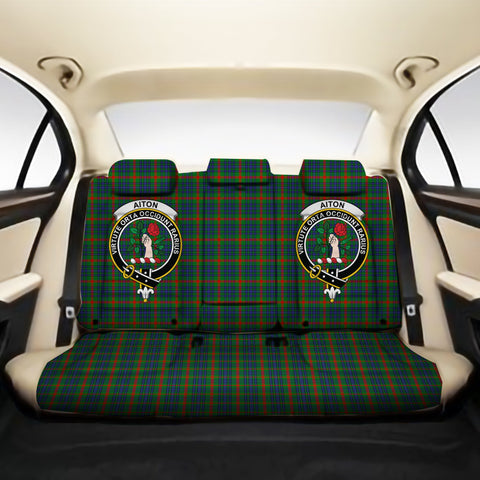 Aiton Clan Crest Tartan Back Car Seat Covers A7