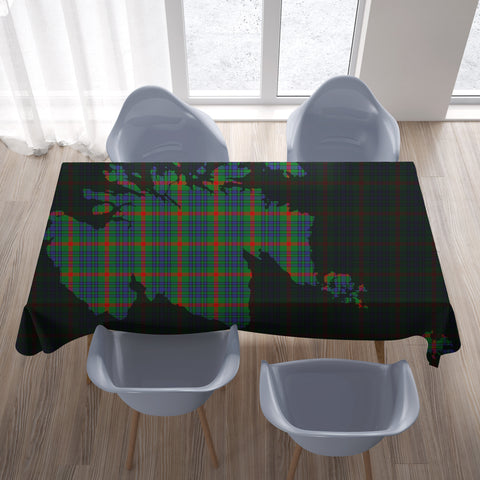 Aiton Tartan Map Tablecloth