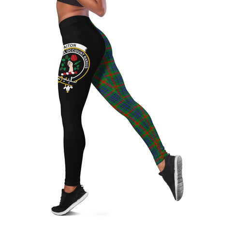Aiton Crest Tartan Leggings | Over 500 Tartans | Special Custom Design