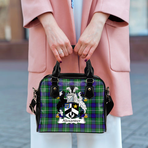 Alexander Tartan Clan Shoulder Handbag | Special Custom Design