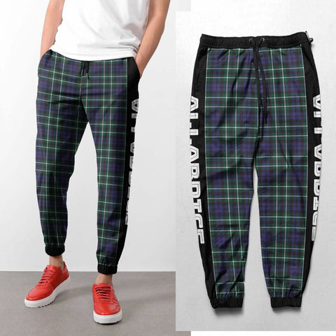 Image of Allardice - Tartan All Over Print Sweatpants - BN