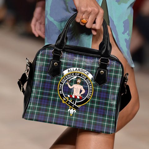 Allardice Tartan Clan Shoulder Handbag | Special Custom Design