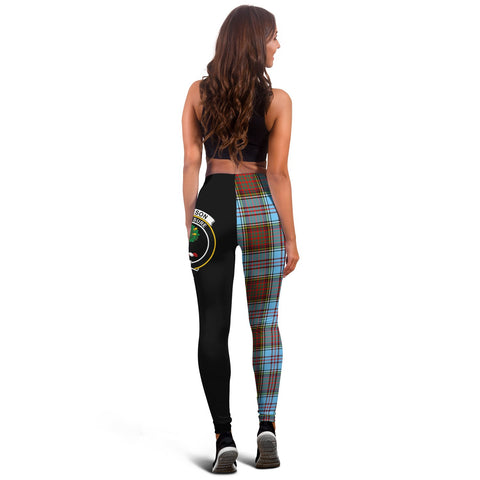 Anderson Ancient Crest Tartan Leggings | Over 500 Tartans | Special Custom Design