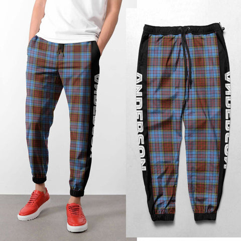 Image of Anderson - Tartan All Over Print Sweatpants - BN