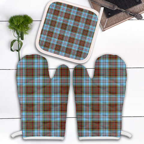 Anderson Ancient Clan Tartan Scotland Oven Mitt And Pot-Holder (Set Of Two)
