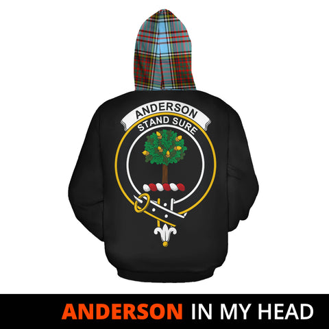 Anderson Ancient In My Head Hoodie Tartan Scotland K9