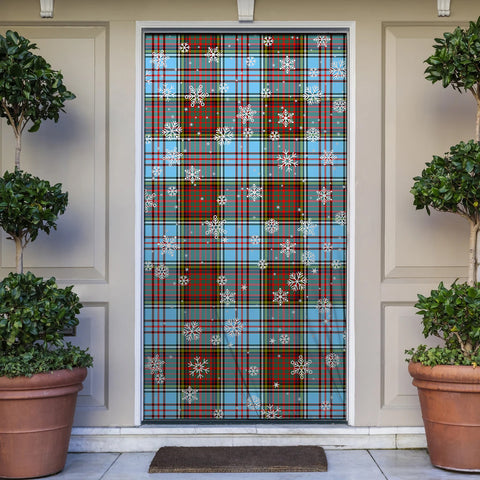 Anderson Ancient Christmas Tartan Door Sock Cover