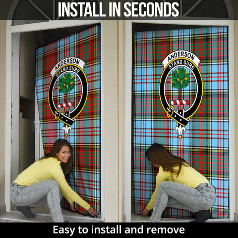 Anderson Ancient Tartan Door Sock Cover