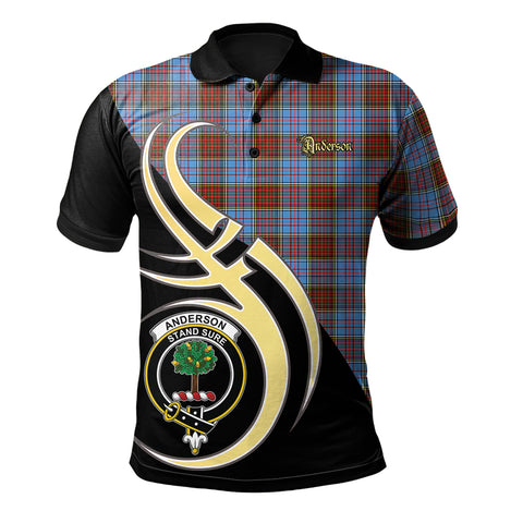 Anderson Modern Clan Believe In Me Polo Shirt
