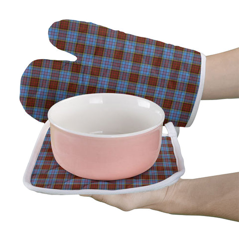 Anderson Modern Clan Tartan Scotland Oven Mitt And Pot-Holder (Set Of Two)