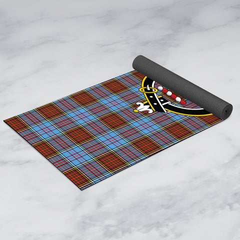 Image of Anderson Modern Clan Crest Tartan Yoga mats
