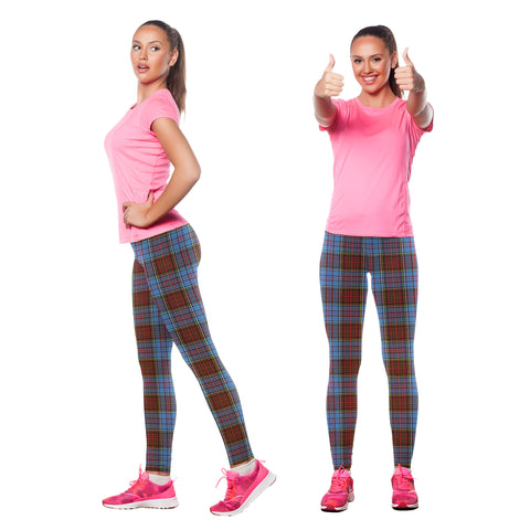 Image of Anderson Modern Tartan Leggings| Over 500 Tartans | Special Custom Design