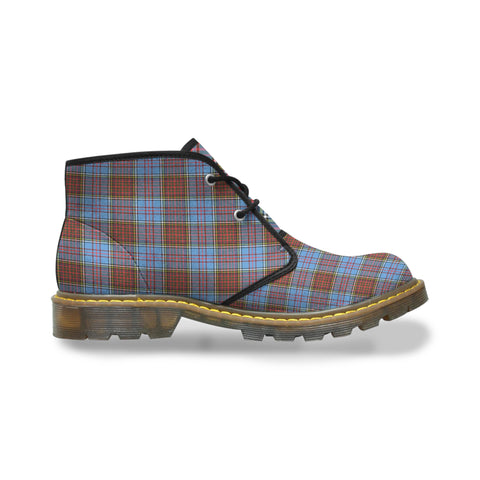 Image of Anderson Modern Tartan Chukka Boots A9