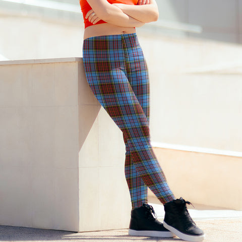 Anderson Modern Tartan Leggings| Over 500 Tartans | Special Custom Design