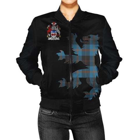 Image of Angus Ancient Tartan Lion & Thistle Women Jacket
