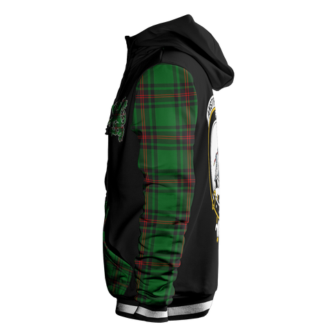 Anstruther - Tartan All Over Print Hoodie - BN