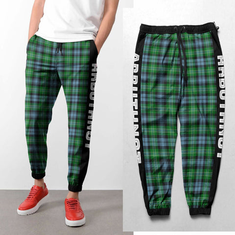 Arbuthnot - Tartan All Over Print Sweatpants - BN
